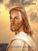 Christo, EASTER RELIGIOUS, paintings, BRTOLP4983,#ER# Ostern, religiös, Pascua, relgioso, illustrations, pinturas