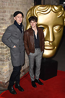 James McVey and Bradley Simpson (The Vamps)<br /> arriving for the BAFTA Childrens Awards 2017 at the Roundhouse, Camden, London<br /> <br /> <br /> ©Ash Knotek  D3353  26/11/2017