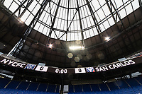 HARRISON, NJ - FEBRUARY 26: Red Bull Arena during a game between AD San Carlos and NYCFC at Red Bull on February 26, 2020 in Harrison, New Jersey.