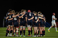 4th April 2021; Paris La Défense Arena, Nanterre, Paris, France; European Champions Cup Rugby, Racing 92 versus Edinburgh;   Team Edinburgh huddle
