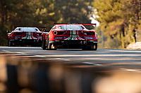 #52 AF Corse Ferrari 488 GTE EVO LMGTE Pro, Daniel Serra, Miguel Molina, Davide Rigon, 24 Hours of Le Mans , Test Day, Circuit des 24 Heures, Le Mans, Pays da Loire, France