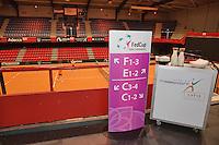 April 16, 2015, Netherlands, Den Bosch, Maaspoort, Fedcup Netherlands-Australia,  Vip restaurant<br /> Photo: Tennisimages/Henk Koster