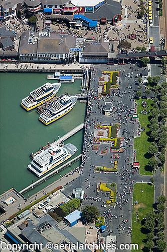 aerial photograph Pier 39 San Francisco, California