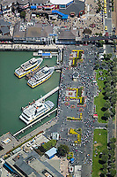 aerial photograph Pier 39 San Francisco, California