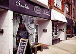 Delight organic fair trade chocolate cafe at the Junction neighbourhood, Toronto, Canada