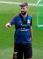 Spain's Gerard Pique during training session. May 29,2018.(ALTERPHOTOS/Acero) /NortePhoto.com