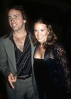 1978 FILE PHOTO<br /> New York, NY<br /> John Ritter and wife Nancy Morgan at Studio 54<br /> Photo by Adam Scull-PHOTOlink.net
