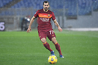 Henrikh Mkhitaryan of AS Roma in action during the Serie A football match between AS Roma and UC Sampdoria at Olimpico stadium in Roma (Italy), January 3rd, 2021. Photo Andrea Staccioli / Insidefoto