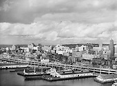 "0103-A031""Port of Seattle. September 20, 1958"" Pier 55 & 56."