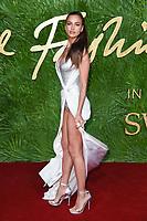 Irinia Shayk<br /> arriving for The Fashion Awards 2017 at the Royal Albert Hall, London<br /> <br /> <br /> ©Ash Knotek  D3356  04/12/2017