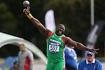 IPC European Athletics Championship 2014<br /> Eduardo Sanca (POR)<br /> Men's Shot Put F12<br /> Swansea University<br /> <br /> 21.08.14<br /> ©Steve Pope-SPORTINGWALES