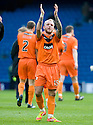 DUNDEE UTD'S JOHNNY RUSSELL AT THE END OF THE GAME.