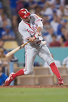 08/9/11 Los Angeles, CA: Philadelphia Phillies right fielder Hunter Pence #3 during an MLB game against the Los Angeles Dodgers played at Dodger Stadium. The Phillies defeated the Dodgers 2-1.