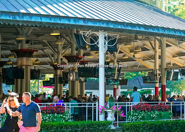 September 04, 2021: Scenes from Jockey Club Gold Cup Day at Saratoga Race Course in Saratoga Springs, N.Y. on September 4, 2021. Dan Heary/Eclipse Sportswire/CSM