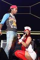 NEWARK, NEW JERSEY - OCTOBER 26: Offset and Cardi B at iHeartMedia's Power 105.1's Powerhouse 2019 presented by AT&T at the Prudential Center in Newark, New Jersey on October 26, 2019. Credit: Walik Goshorn/MediaPunch