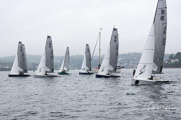 National 18s racing in Cork Harbour