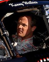 Nov 12, 2005; Phoenix, Ariz, USA;  Nascar Busch Series driver Kenny Wallace during the Arizona 200 at Phoenix International Raceway. Mandatory Credit: Photo By Mark J. Rebilas