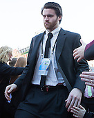 Conor MacPhee (PC - 29) - The teams walked the red carpet through the Fan Fest outside TD Garden prior to the Frozen Four final on Saturday, April 11, 2015, in Boston, Massachusetts.