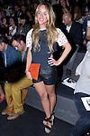 02.09.2012. Celebrities attending the Ana Locking fashion show during the Mercedes-Benz Fashion Week Madrid Spring/Summer 2013 at Ifema. In the image Lara Vera (Alterphotos/Marta Gonzalez)