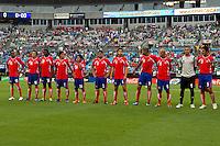 El Salvador vs Costa Rica, June 9, 2011