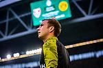 09.08.2019, Merkur Spiel-Arena, Düsseldorf, GER, DFB Pokal, 1. Hauptrunde, KFC Uerdingen vs Borussia Dortmund , DFB REGULATIONS PROHIBIT ANY USE OF PHOTOGRAPHS AS IMAGE SEQUENCES AND/OR QUASI-VIDEO<br /> <br /> im Bild | picture shows:<br /> Mario Goetze (Borussia Dortmund #10) auf dem Weg zum warmmachen, <br /> <br /> Foto © nordphoto / Rauch