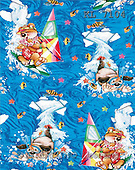 Interlitho, Michele, GIFT WRAPS, paintings, watersport(KL7104,#GP#) everyday