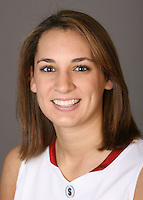 STANFORD, CA - OCTOBER 9:  Ashley Cimino of the Stanford Cardinal women's basketball team poses for a headshot on October 9, 2008 in Stanford, California.