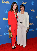 LOS ANGELES, USA. January 25, 2020: Finola Hughes & Kimberly McCullough at the 72nd Annual Directors Guild Awards at the Ritz-Carlton Hotel.<br /> Picture: Paul Smith/Featureflash