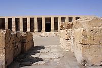 Afrique/Egypte/Louxor/Ancienne Thèbes/Vallée des Rois: Le tombeau de Horemheb - 18ème dynastie