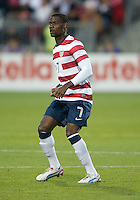 03 June 2012: US Men's National Soccer Team midfielder Maurice Edu #7 in action during an international friendly  match between the United States Men's National Soccer Team and the Canadian Men's National Soccer Team at BMO Field in Toronto..The game ended in 0-0 draw...