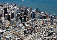 aerial photograph Transbay downtown San Francisco, California