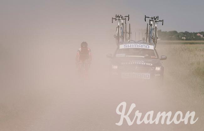 being dropped in the dust<br /> <br /> 92nd Schaal Sels 2017 <br /> 1 Day Race: Merksem > Merksem (188km)
