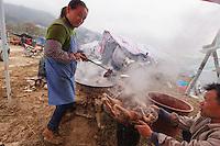 Asia,China,Guizhou,Chong'an,festival of Lusheng of Gejia ,China minority