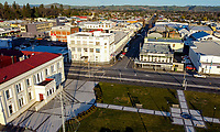 Masterton Town Hall in Masterton, New Zealand on Friday, 4 August 2020. Photo: Dave Lintott / lintottphoto.co.nz
