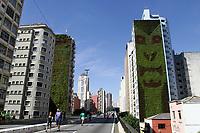 31.03.2019 - Edifícios solicitam retirada de jardim vertical no minhocão em SP