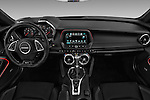 Stock photo of straight dashboard view of 2018 Chevrolet Camaro 2SS 2 Door Coupe Dashboard