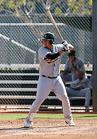 Michael Napoleon / Oakland Athletics 2008 Instructional League..Photo by:  Bill Mitchell/Four Seam Images
