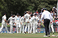 Kyle Jamieson during day one of the second International Test Cricket match between the New Zealand Black Caps and Pakistan at Hagley Oval in Christchurch, New Zealand on Sunday, 3 January 2021. Photo: Martin Hunter / lintottphoto.co.nz