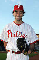 Feb 20, 2009; Clearwater, FL, USA; The Philadelphia Phillies pitcher Mike Koplove (52) during photoday at Bright House Field. Mandatory Credit: Tomasso De Rosa/ Four Seam Images