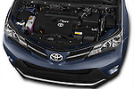 Car stock 2015 Toyota RAVA4 Lounge 5 Door SUV engine high angle detail view