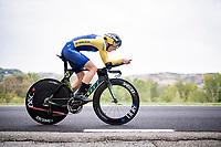Lisa Norden (SWE)<br /> <br /> Women Elite Time trial from Imola to Imola (31.7km)<br /> <br /> 87th UCI Road World Championships 2020 - ITT (WC)<br /> <br /> ©kramon