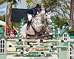 Lyonell ridden by Cara Raether,  USEF trials#2 Wellington Florida. 3-22-2012