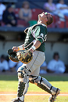 Michigan State Spartans Seth Williams #45 during a game vs the Akron Zips at Chain of Lakes Park in Winter Haven, Florida;  March 12, 2011.  Michigan State defeated Akron 5-1.  Photo By Mike Janes/Four Seam Images