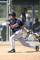 March 21st 2008:  Robert Marcial of the Atlanta Braves minor league system during Spring Training at Tiger Town in Lakeland, FL.  Photo by:  Mike Janes/Four Seam Images