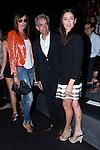 02.09.2012. Celebrities attending the Roberto Torretta fashion show during the Mercedes-Benz Fashion Week Madrid Spring/Summer 2013 at Ifema. In the image (L-R) Nieves Alvarez, Inmanol Arias and Irene Meritxell  (Alterphotos/Marta Gonzalez)