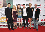 "Will Gluck,Patricia Clarkson,Emma Stone,Penn Badgley and Aly Michalka at the Screen Gems' L.A. Premiere of ""Easy A"" held at The Grauman's Chinese Theatre in Hollywood, California on September 13,2010                                                                               © 2010 Hollywood Press Agency"