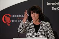 Sophie Brochu<br /> , Presidente et Chef de la Direction, Gaz Metro a la tribune du Cercle canadien de Montreal,le 13 fevrier 2017.<br /> <br /> Photo : <br /> agence quebec presse<br /> <br /> <br /> <br /> <br /> <br /> <br /> <br /> <br /> <br /> PHOTO :  Agence Quebec Presse