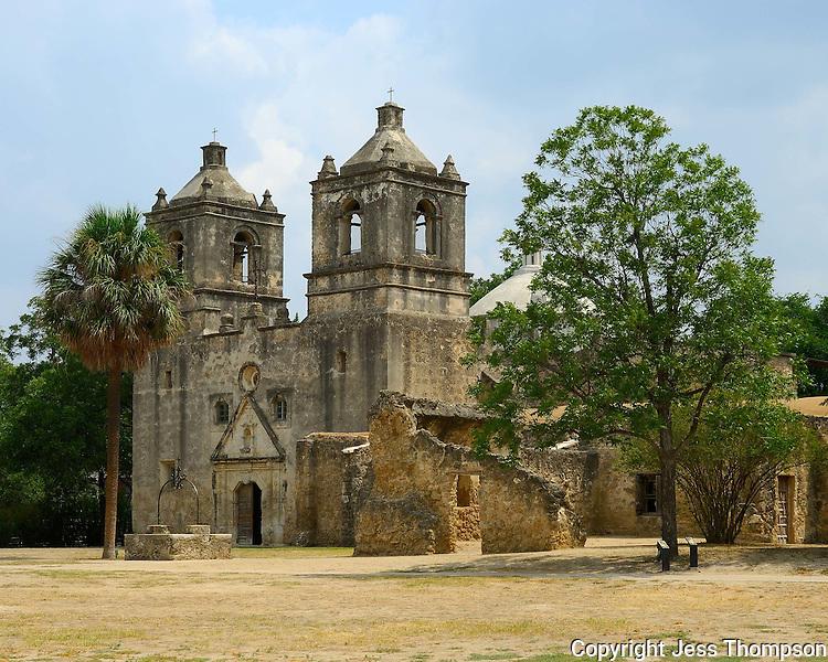 Mission Conception, San Antonio, Texas