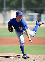 Jeff Beliveau / Chicago Cubs 2008 Instructional League ..Photo by:  Bill Mitchell/Four Seam Images