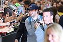 Niall Horan arrives at Narita International Airport in Japan